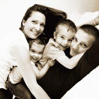 La famille de Dina